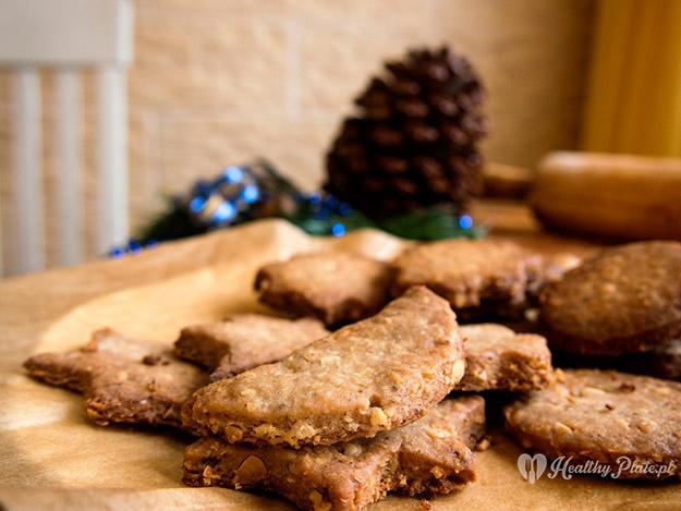 ciasteczka kruche-korzenno-migdałowe