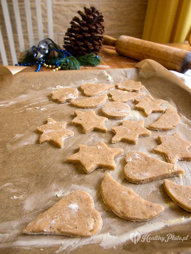 ciasteczka kruche korzenno-migdałowe