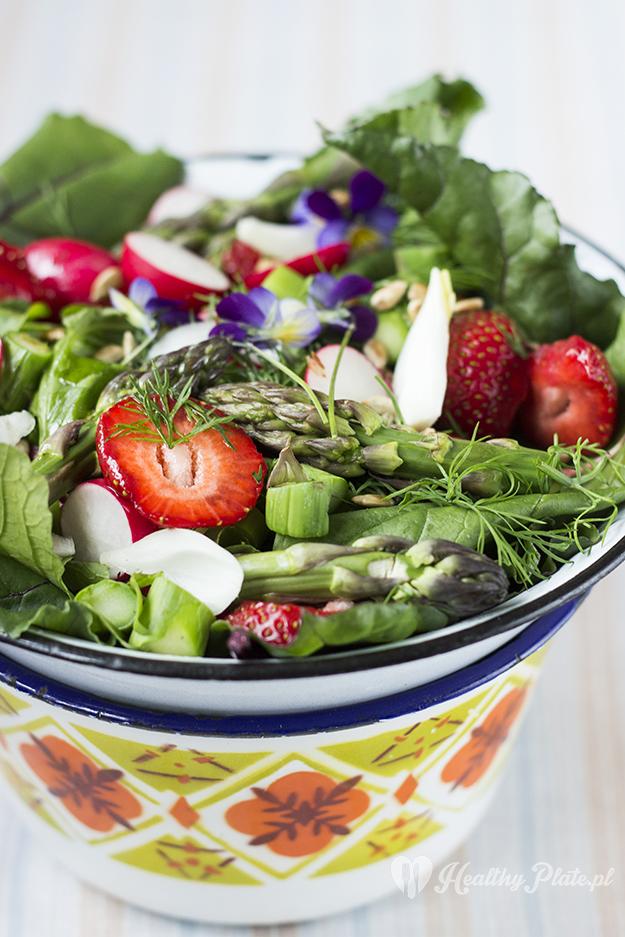 healthy_plate_salatka_rukola_truskawka_V