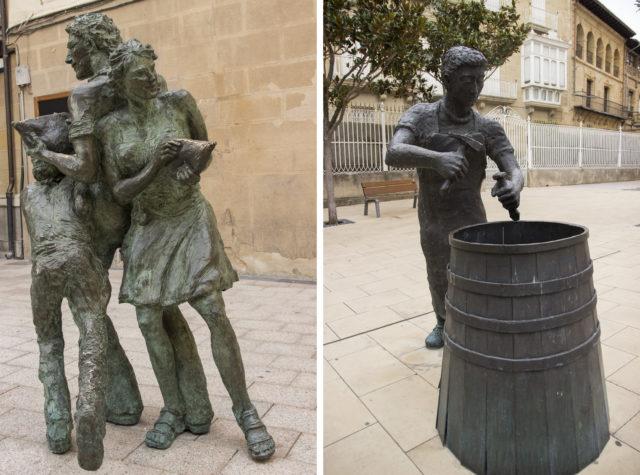 Rioja - Haro, pomnik bednarza