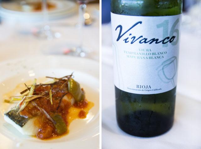 Dorsz po riojańsku, Vivanco, La Rioja