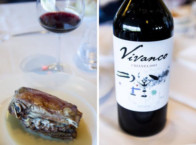 Pieczona jagnięcina, Vivanco, La Rioja